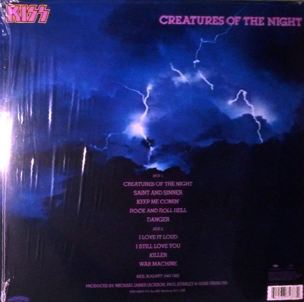 LP KISS ‎– CREATURES OF THE NIGHT