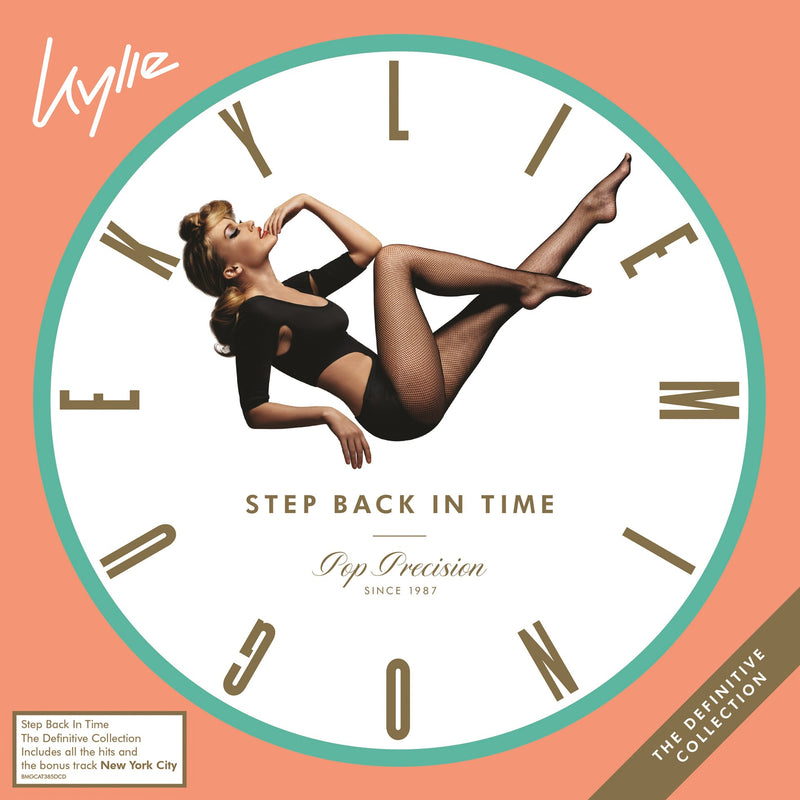 CD x 2 Kylie Minogue · Step Back in Time