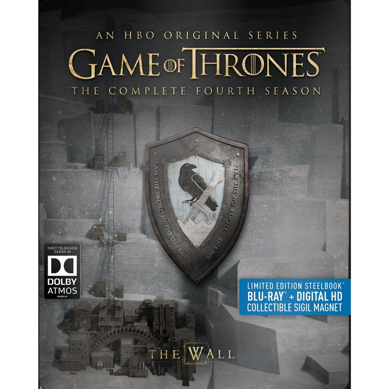 BLU-RAY+DIGITAL HD GAME OF THRONES: THE COMPLETE FOURTH SEASON 4