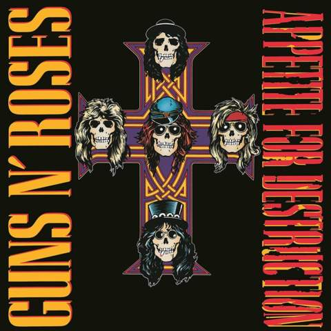 CD APPETITE FOR DESTRUCTION GUNSN ROSES REMASTERIZADA