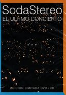 DVD+CD EL ULTIMO CONCIERT ED ESPECIAL / SODA STEREO