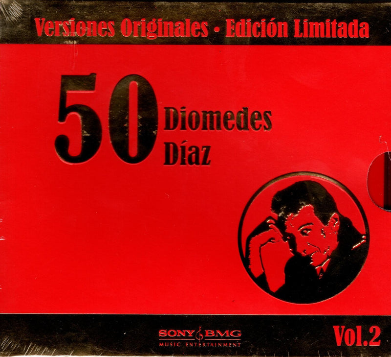 CD X3 LAS 50 DE DIOMEDES DIAZ VOL. 2