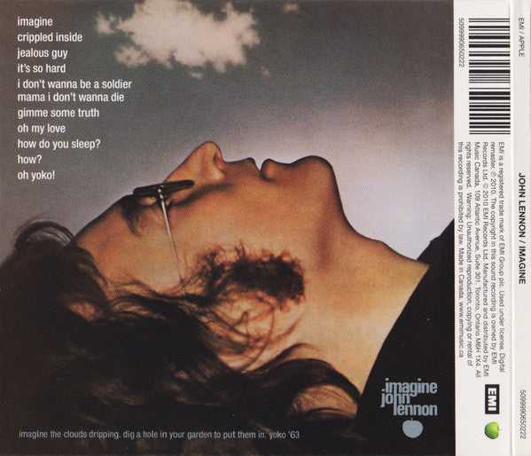 JOHN LENNON - IMAGINE  / CD