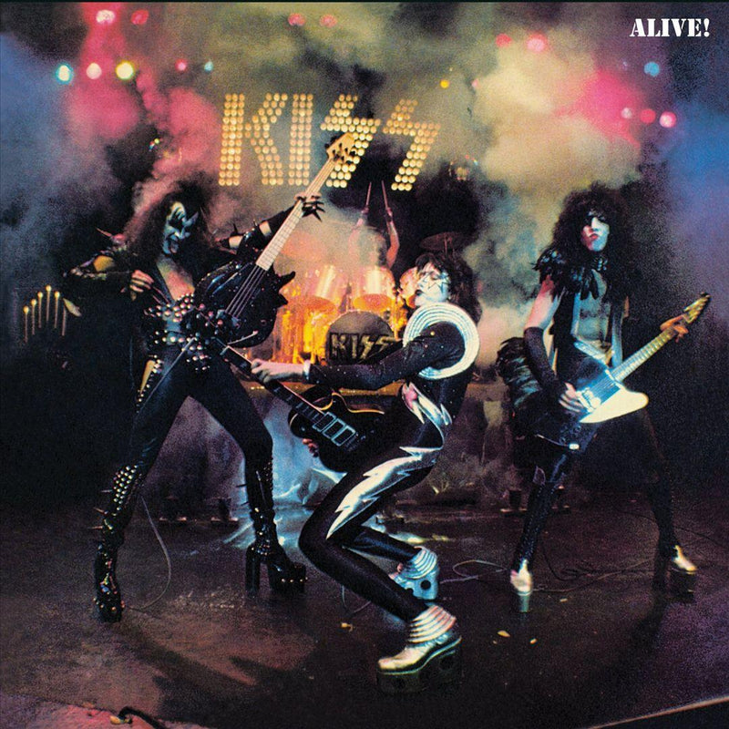 LP x2  KISS - ALIVE /