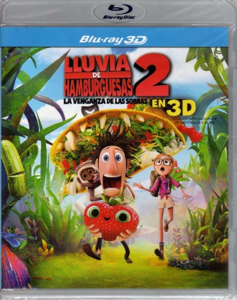 BLURAY 3D LLUVIA DE HAMBURGUESAS 2