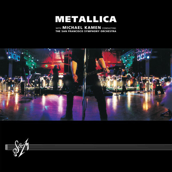 LP'S x3 Metallica - S&M with Michael kamen he san francisco symphony orchestra