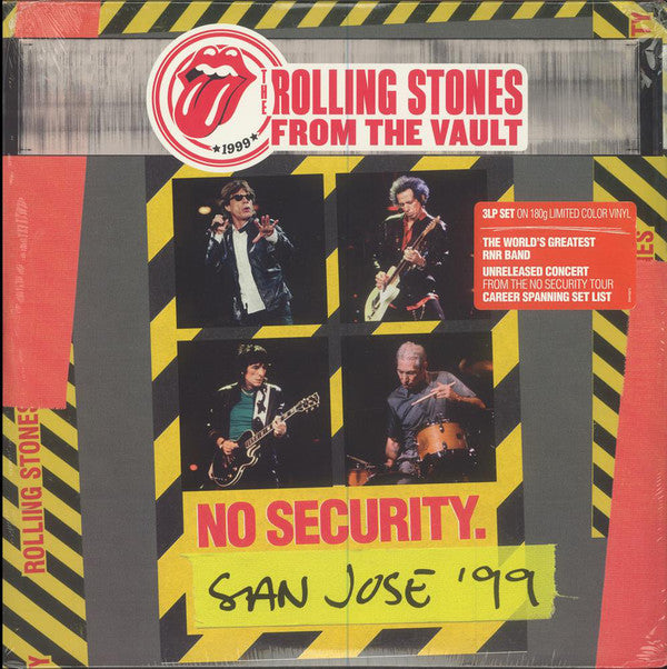 LPX3 / THE ROLLING  STONES SAN JOSE 99