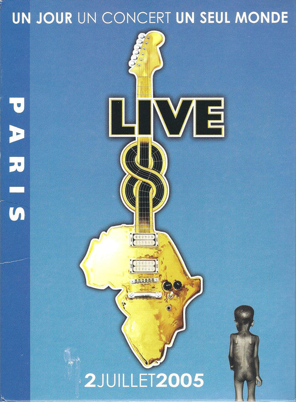 VARIOUS ‎– LIVE 8 PARIS / DVD
