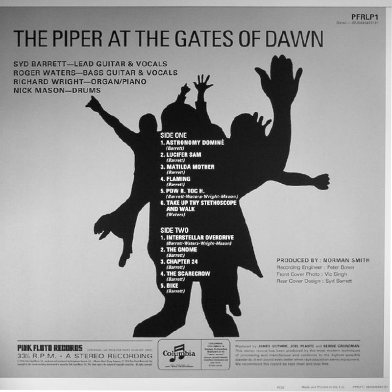 LP Pink Floyd ‎– The Piper At The Gates Of Dawn