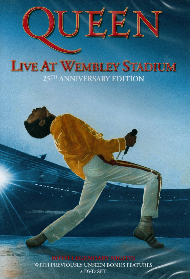 DVD x2 Queen: Live at Wembley Stadium - 25th Anniversary Edition