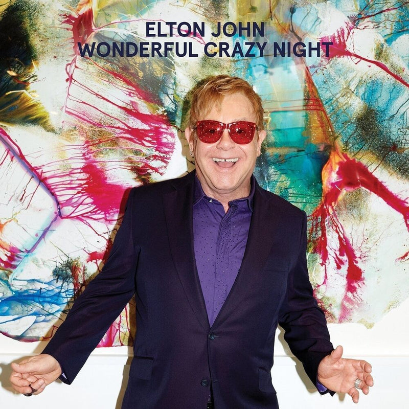 LP Elton John ‎– Wonderful Crazy Night