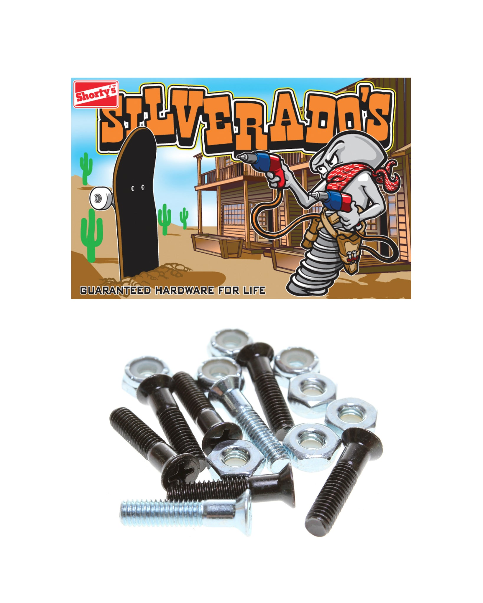 Shorty's Silverado's Phillips Head Hardware
