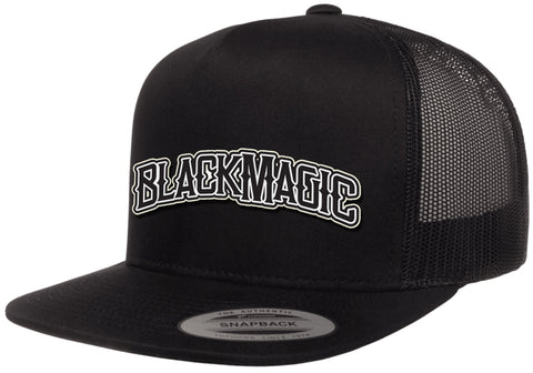 Black Magic Arch Snapback Hat