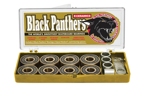 Black Panthers Bearings Ceramics