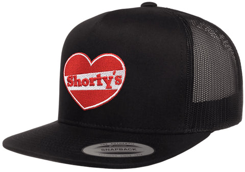 Shorty's Heart Logo Snapback Hat