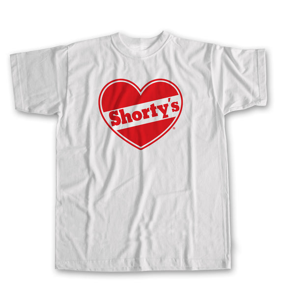 Shorty's Heart Logo Short Sleeve T-shirt