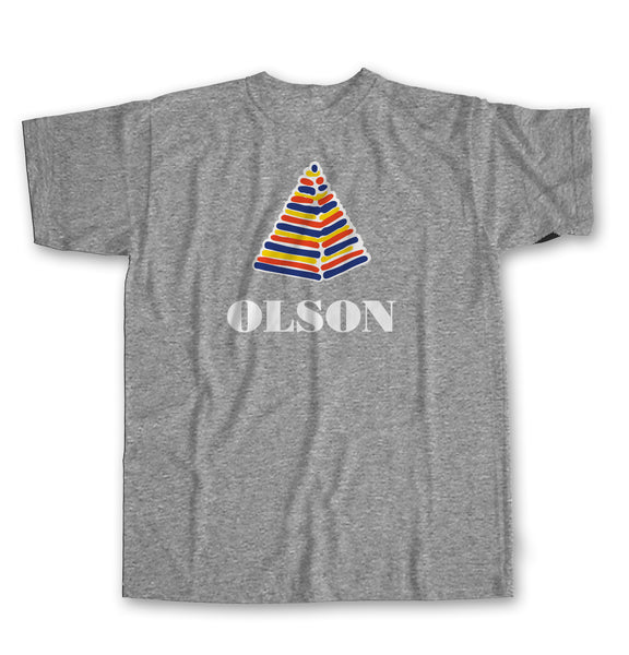 NEW! Re-issue Olson Pyramid Logo Short Sleeve T-shirt