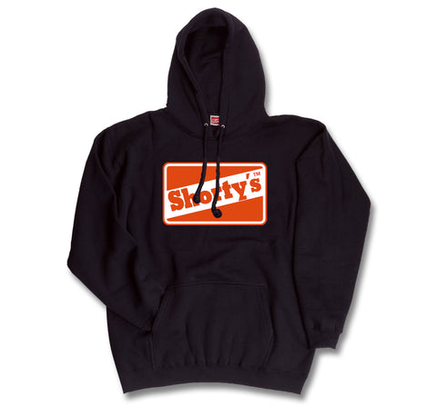 Shorty's OG Logo Hooded Pullover (Limited OG orange/red color logo)