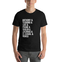 Load image into Gallery viewer, Traditional Bachata Artists Short-Sleeve Unisex T-Shirt