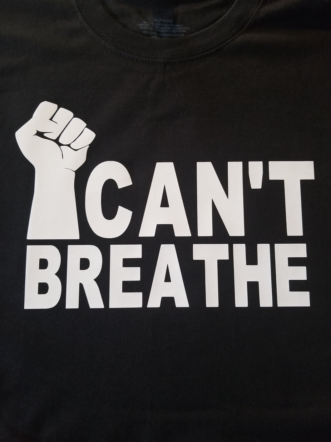 I Can't BREATHE  TEE 2x