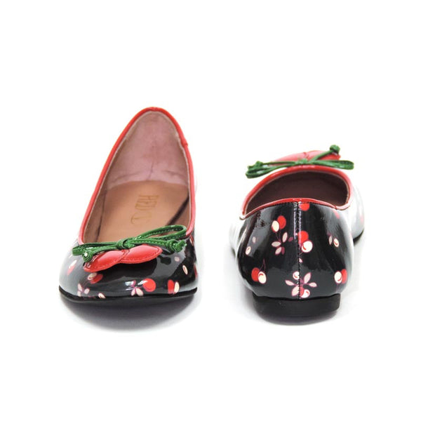 RED Valentino slip on ballet shoes with a slight heel