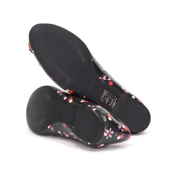 RED VALENTINO Flats with rubber soles