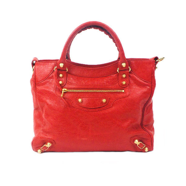 Balenciaga | Red Classic City Bag