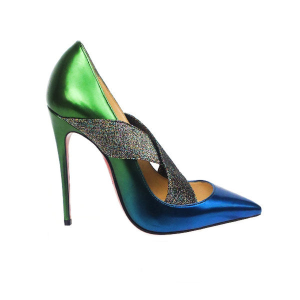 Christian Louboutin | Iridescent Ombre Pumps
