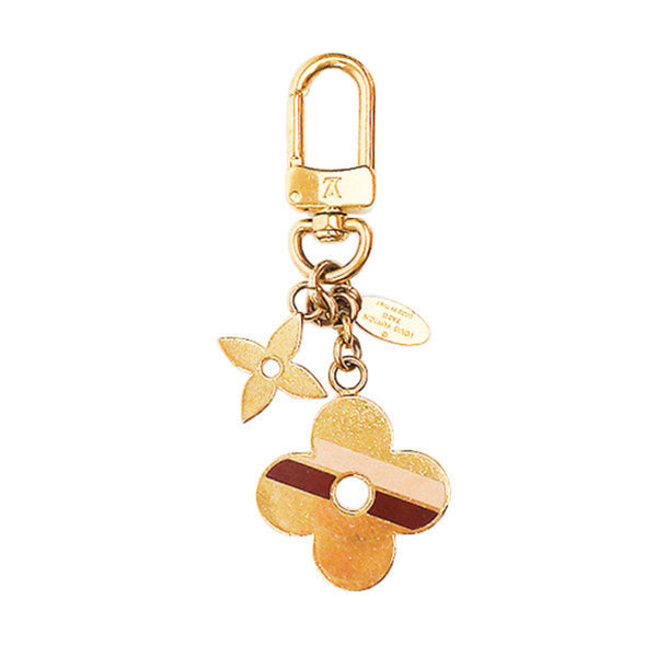 Louis Vuitton | Striped Flowers BB Bag Charm