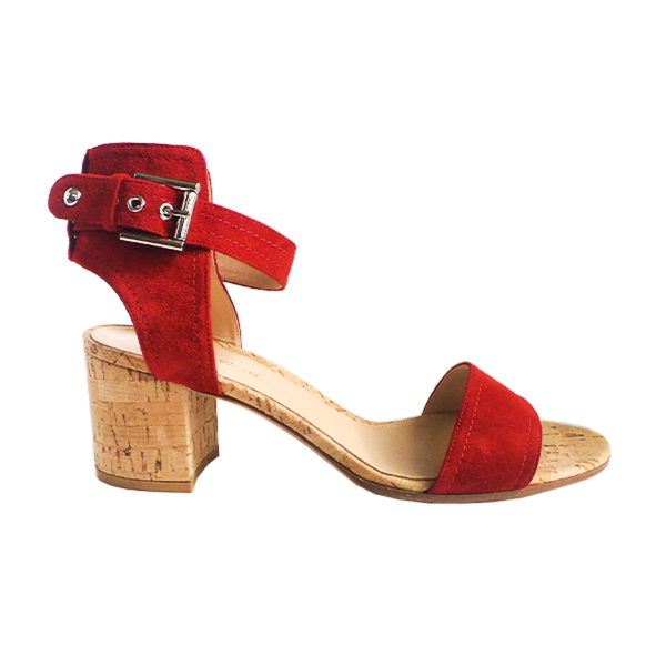Gianvito Rossi | Red Suede Sandals