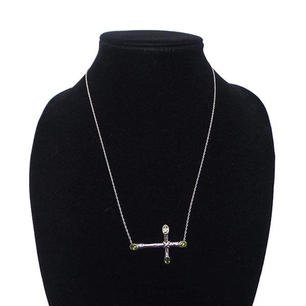 John Hardy | Bamboo Lava Cross Necklace