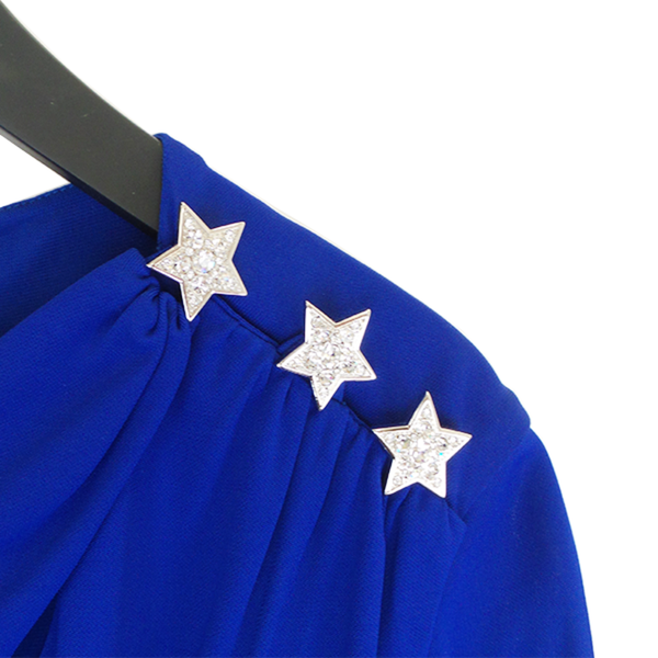 Roberto Cavalli | Royal Blue Star Dress
