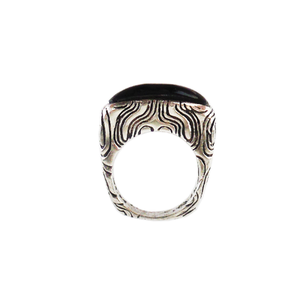 Dian Malouf | Onyx Stack Ring