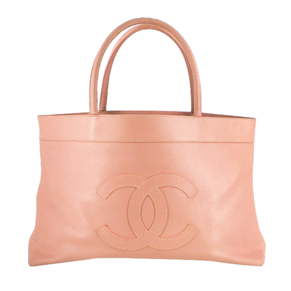 Chanel | Pink Timeless Caviar Tote