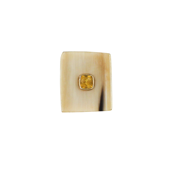 Ashley Pittman | Citrine Horn Ring