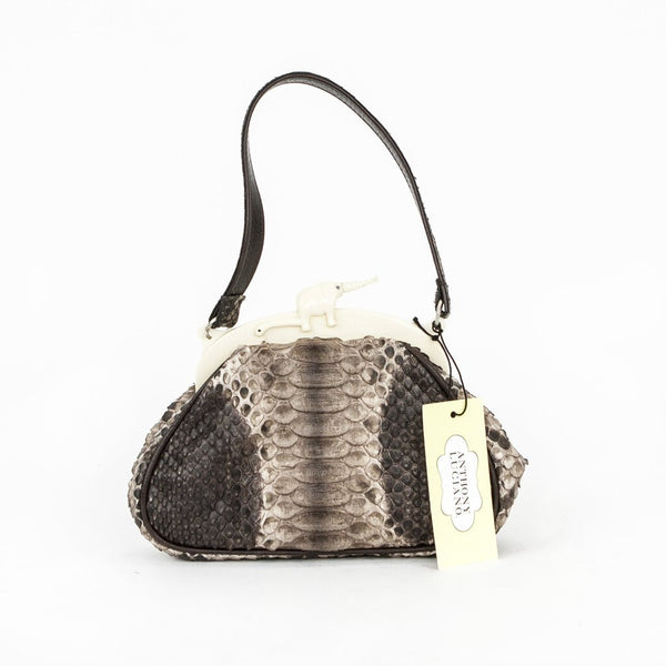 Anthony Luciano | Python Leather Handbag