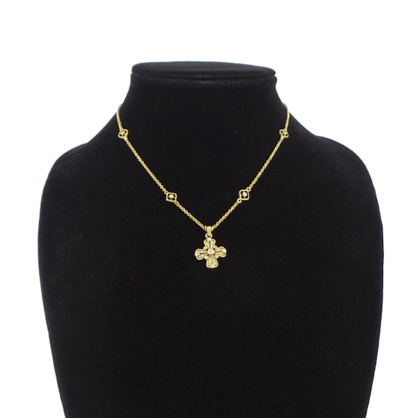 Judith Ripka | Cross Pendant Necklace