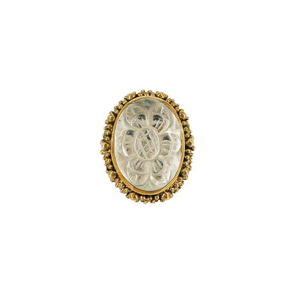 Stephen Dweck | Floral Carved Ring