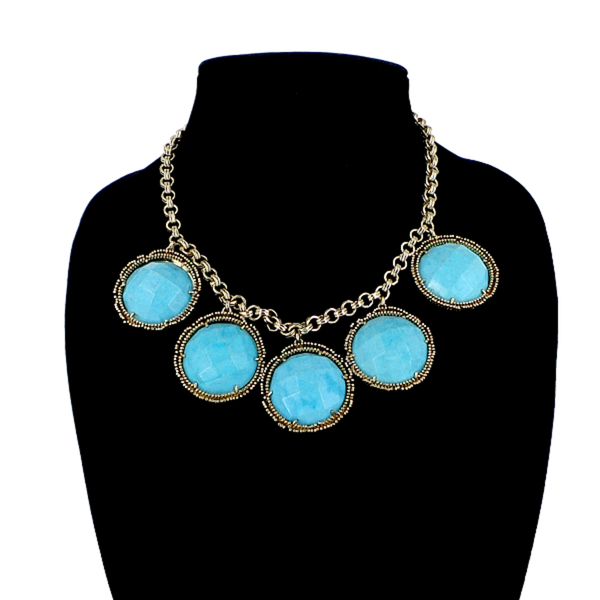 Kendra Scott | Turquoise Circle Necklace