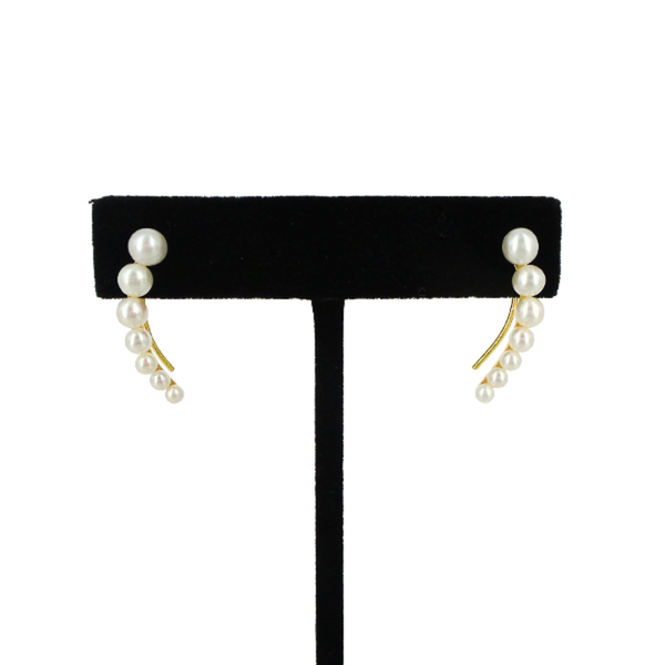 Anita Ko | Floating Pearl Earrings