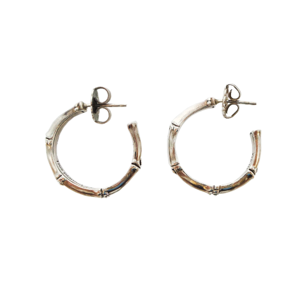 John Hardy | Bamboo Hoop Earrings