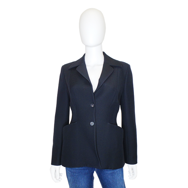 Christian Dior | Navy Wool Blazer