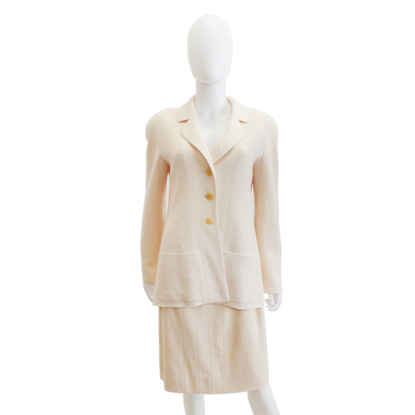 Chanel | Ivory Knit Suit