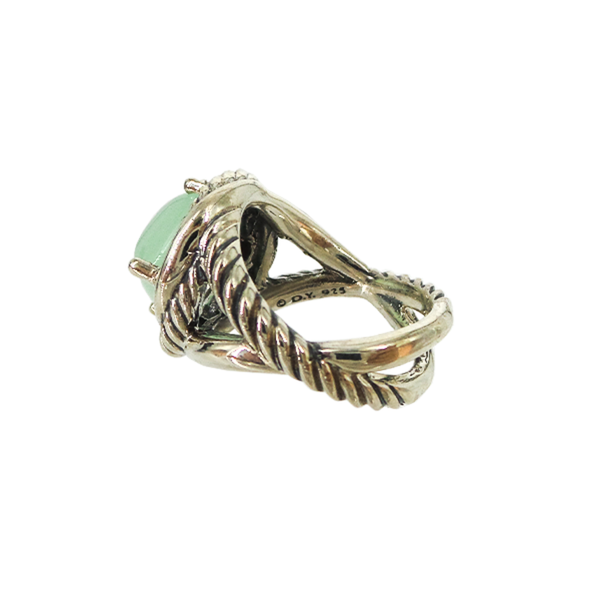 David Yurman | Chalcedony Infinity Ring