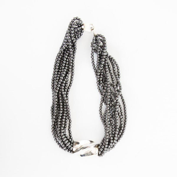 Patricia Von Musulin | Hematite Twist Necklace