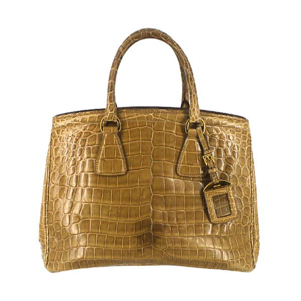 Prada | Tan Crocodile Tote
