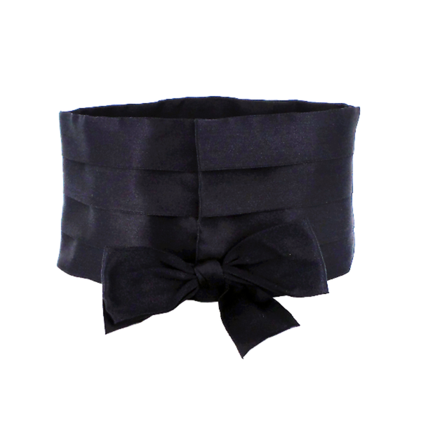 Chanel | Satin Bow Belt