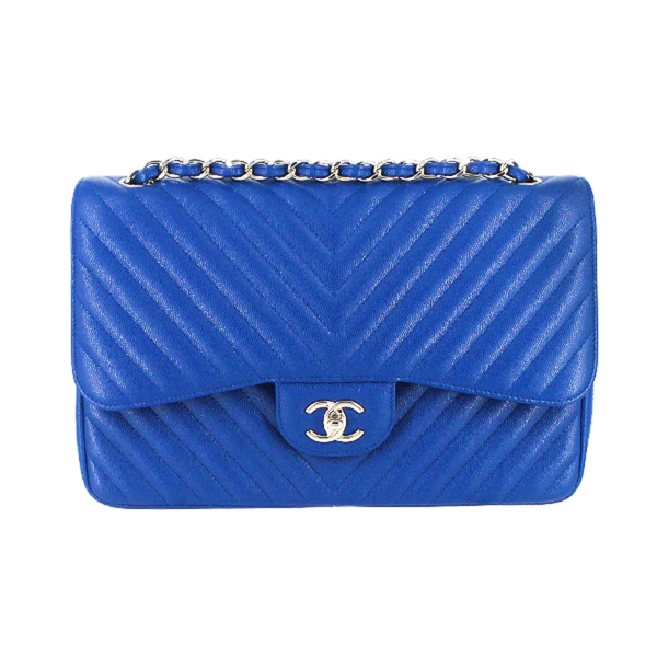 CHANEL | Chevron Jumbo Double Flap Bag