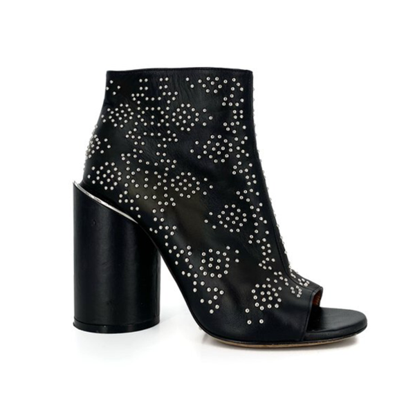 Givenchy | Black Studded Booties