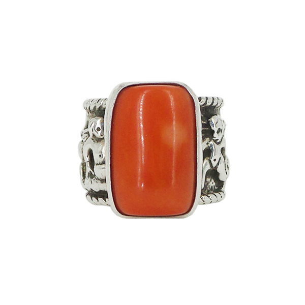 Rebecca Collins | Coral Wide Ring